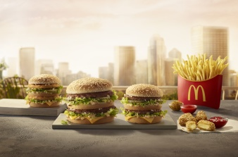 Malou Burger for McDonald's Poland