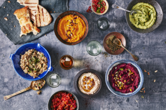Middle Eastern cuisine by Danielle Wood